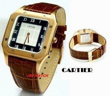 Jam Tangan Cartier Segi Coklat jual jam tangan murah jam tangan casio jam tangan kw 1