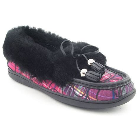 coach slipper buy low price coach signature fiona shearling slippers