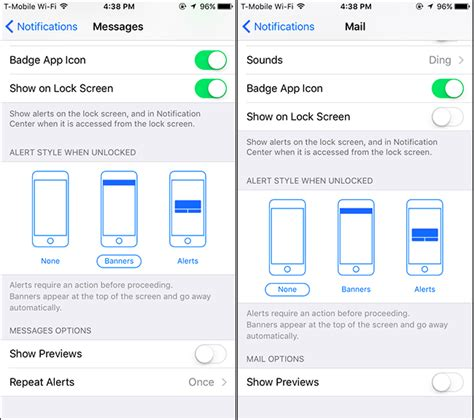 hide message preview iphone how to hide sensitive notifications from your iphone s lock screen