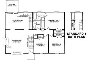 Lincoln J A Myers Homes 28x40 House Plans