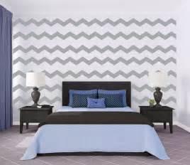 Chevron Wall Sticker chevron wall pattern large wall decal custom vinyl art