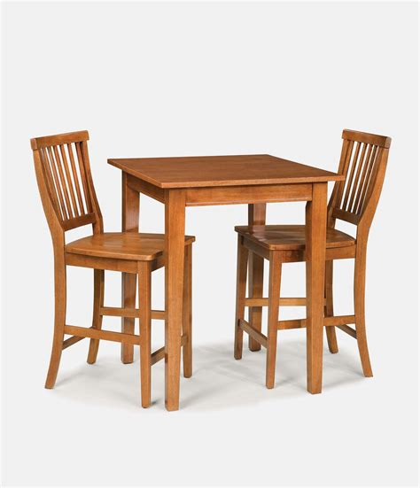 Bistro Table And Chairs Home Styles Arts Crafts Cottage Oak Bistro Table Set 5180 359