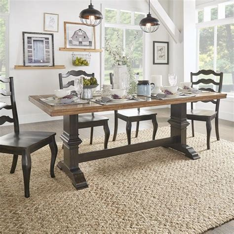 two tone wood dining table best 25 two tone kitchen ideas on two tone