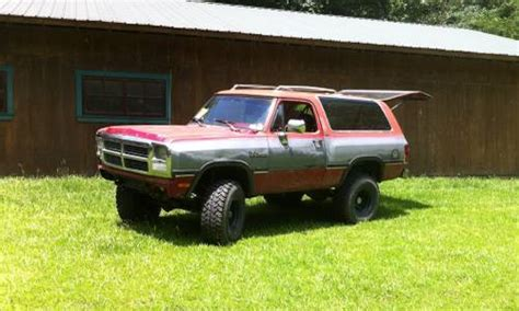 boat parts craigslist jackson 1991 dodge ramcharger auto 4x4 for sale in jackson