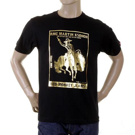 Shirt With Print buy printed black t shirt from monkey clothing now