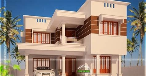 2925 square feet flat roof home kerala home design and modern flat roof house in 2925 square feet kerala home
