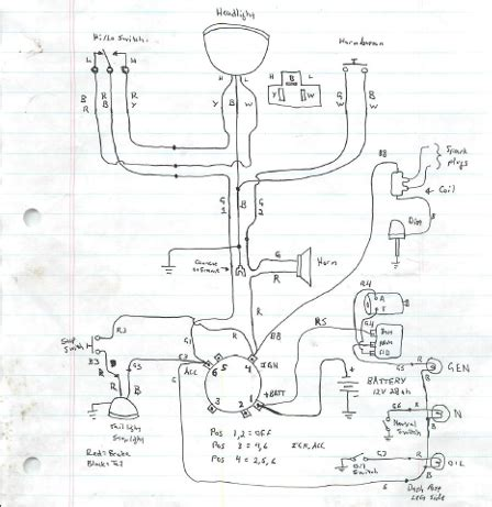 harley panhead wiring diagram wiring diagram with