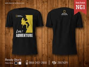 Kaos National Geographic Jalan Jalan koas national geographic creative media