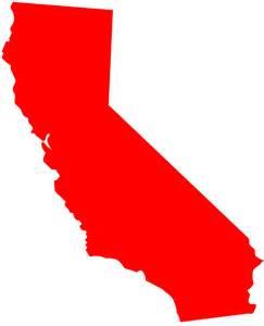 california map clip california map silhouette free vector silhouettes