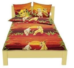 Disney Princess Duvet Cover Set Single Lion King Bedding Ebay