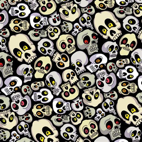 halloween pattern tumblr skull pattern chris piascik