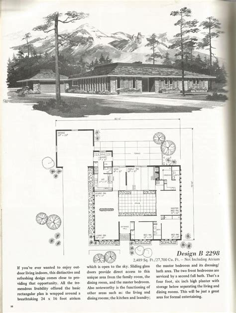 1 floor suburb floor plans 184 best the suburbs images on vintage house