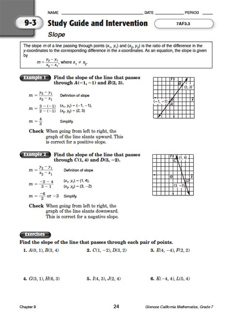 Quia Class Page Math Chapter 9