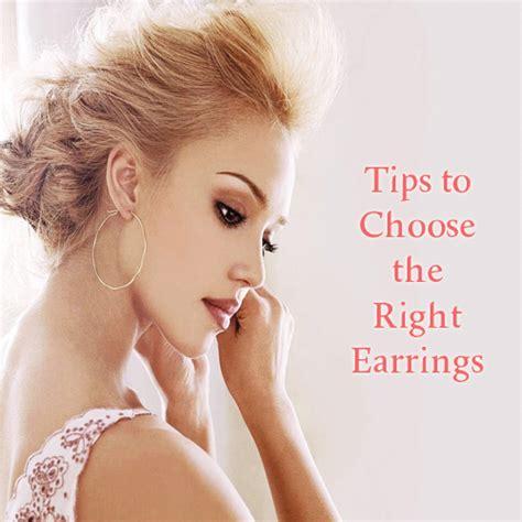 tips to choose the right earrings for all shape slide