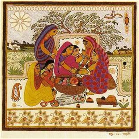 pattern meaning in bengali art c kantha embroidery the simplest of stitch used to