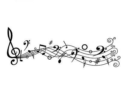 cenefas musicales vinilo adhesivo decoraci 243 n quot notas musicales quot 03229