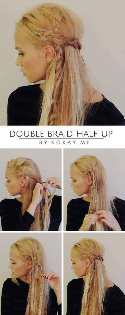 Kirsten Always Has A Fashion Trick Up Sleeve by How To Braid Half Up Tutorial Kirsten Zellers