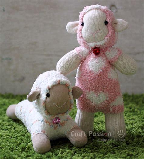 sock animals sock sheep free sew pattern craft page 2 of 2