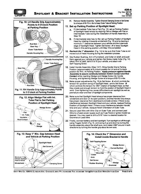 unity spotlight wiring diagram wiring diagram manual
