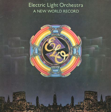 Recent Records Electric Light Orchestra A New World Record At Discogs