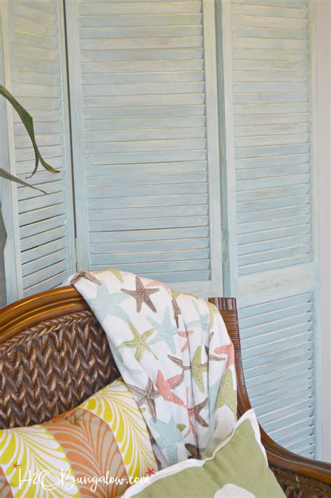 diy shutter projects 15 creative diy shutter projects h20bungalow
