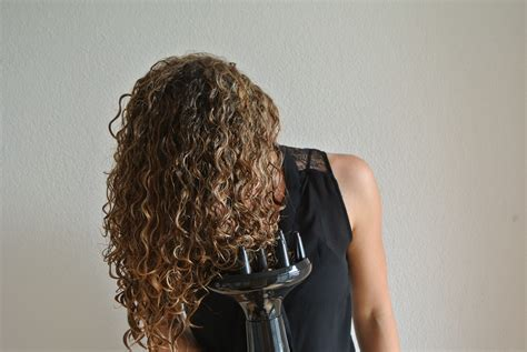 Hair Dryer Diffuser On Hair how to curly hair justcurly