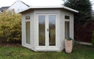 The huntington elite pent corner insulated summerhouse garden room