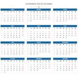 Calendario 2018 Vector Español Calendario 2017 Vector Colombia 2017 Calendar Printable
