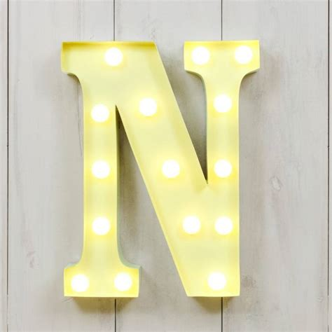 vegas metal led circus letter light n by all things