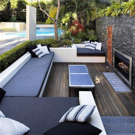 27 Contemporary Patio Outdoor Designs Decorating Ideas Contemporary Patio Designs