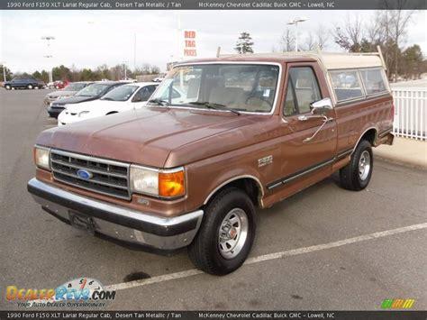 1988 Ford F150 Interior 1990 Ford F150 Xlt Lariat Regular Cab Desert Tan Metallic