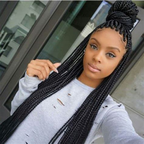 20 elegant big box braids