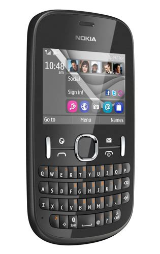 nokia qwerty phones nokia asha 201 qwerty phone the register
