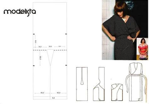pattern drafting kaftan vestido tipo kaftan ou kimono justo e transpassado