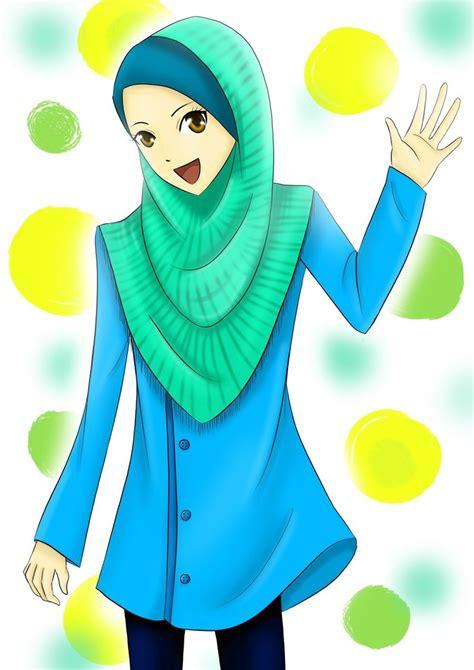 anime yang lucu foto lucu bergerak muslimah terlengkap display picture unik