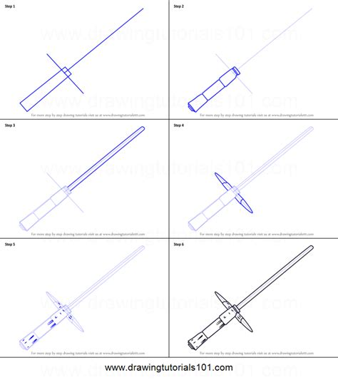 kylo ren lightsaber coloring page how to draw kylo ren s lightsaber from star wars printable