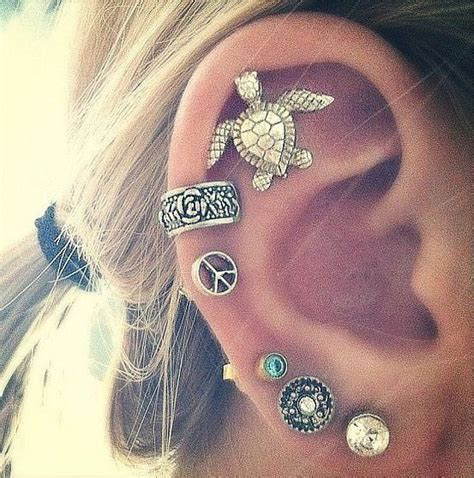 7 Parts I Like To See Pierced by 15 Must See Mehrere Ohr Piercings Pins Ohrringe