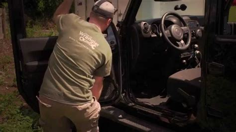 How To Remove Jeep Doors How To Remove Jeep Wrangler Power Doors