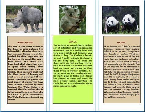triptico de educacion inicial tr 205 ptico spa tr 237 ptico 3 tripticos de animales blog teleluces triptico de informaci