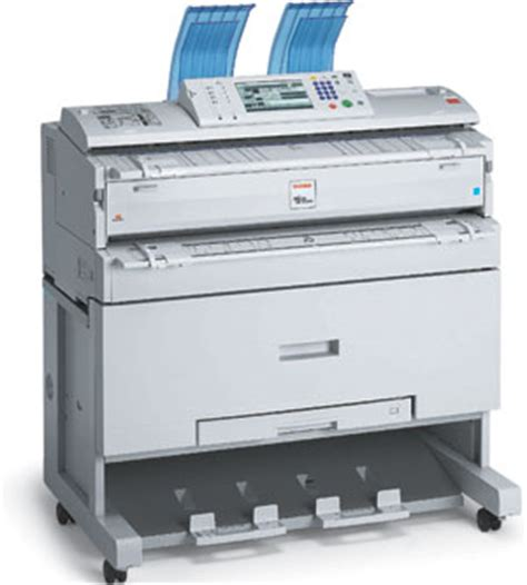 Toner Blueprint simplify large format copying with ricoh s line of analog and digital wide format solutions