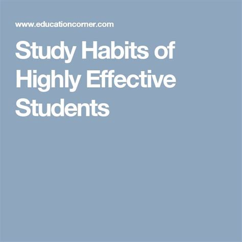 7 Of My Favorite Study Habits And Helpers by 11 Best Academic Succes Images On Purpose