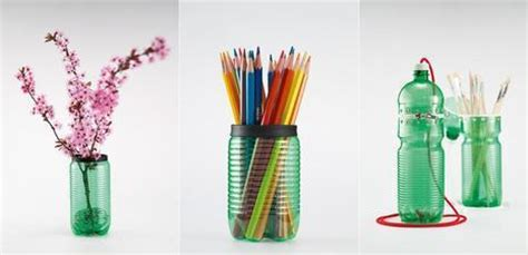 Pencil Holder For Desk by Beautifully Recycled Plastic Bottles Curbly