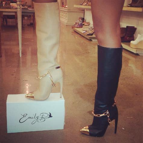 Emily Shoes emily b debuts a sneak peek of quot emily b quot shoe line
