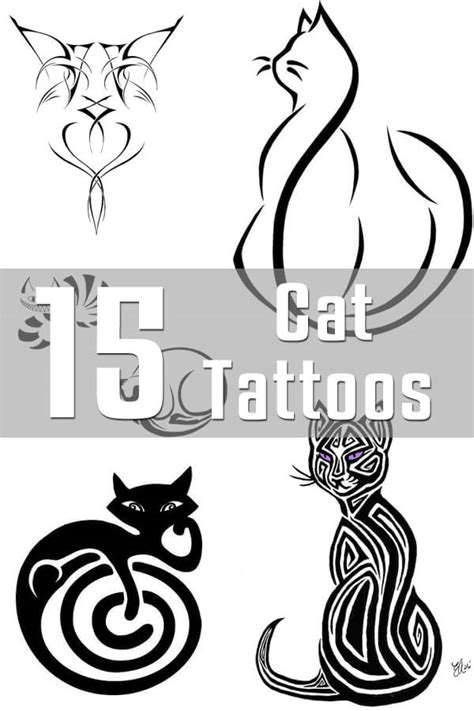 cat tattoo designs the body is a canvas