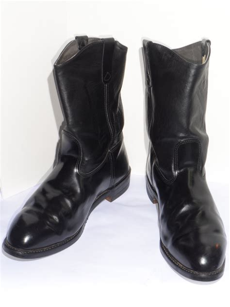 black motorcycle boots men s black motorcycle boots classic vintage apparel