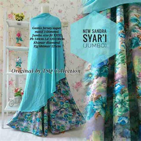 Gamis Zoya Brokat Jumbo baju gamis brokat ukuran jumbo gamis murahan