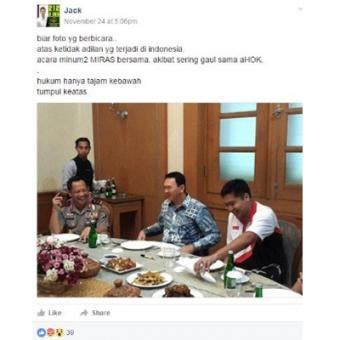 ahok equil hebohnet trending topic heboh botol air mineral