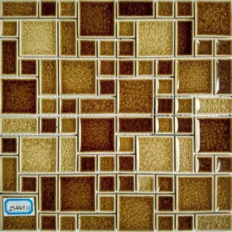 Crackle Glass Mosaic Wall Tile