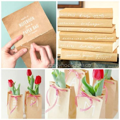 Make Thing With Paper - 35 cool things to make with a paper bag happy