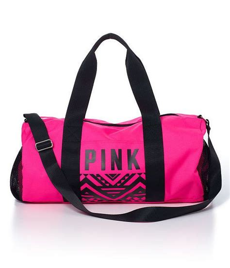 25 best ideas about pink duffle bag on